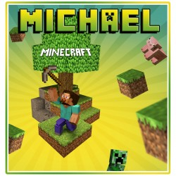 Personalised Minecraft Mug