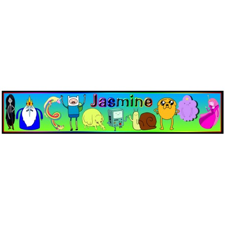 Personalised Adventure Time Ruler