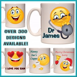 Personalised Smiley Face Mug