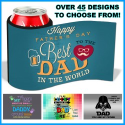 Personalised Father's Day Stubby Cooler