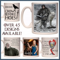 Personalised Game of Thrones Mug
