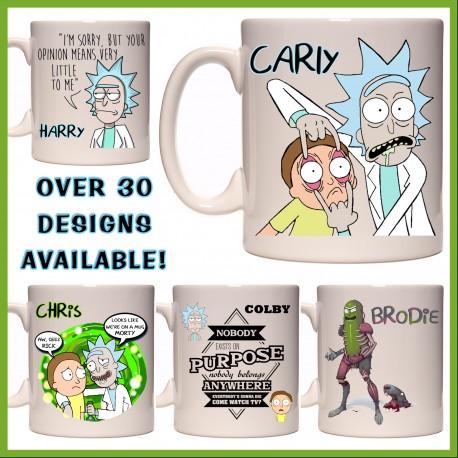 Personalised Rick and Morty Mug