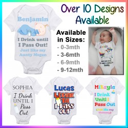 Personalised Design Baby Onesie