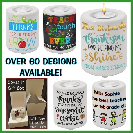 Teacher Candle Holder
