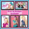 Personalised Jojo Siwa Fridge Magnet