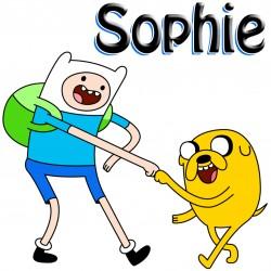 Personalised Adventure Time Mug