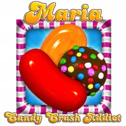 Personalised Candy Crush Mug