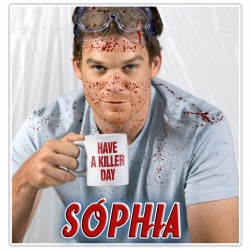 Personalised Dexter Mug