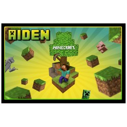 Personalised Minecraft Fridge Magnet