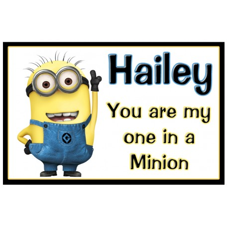 Personalised Minion Fridge Magnet