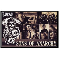 Personalised Sons of Anarchy Fridge Magnet