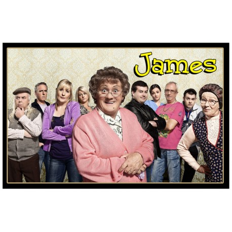 Personalised Mrs Brown's Boys Fridge Magnet