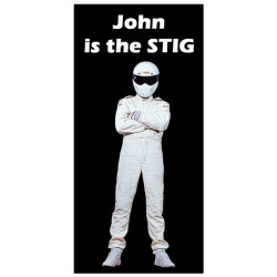 Personalised Top Gear & The Stig Pen
