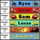 Personalised Name Ruler
