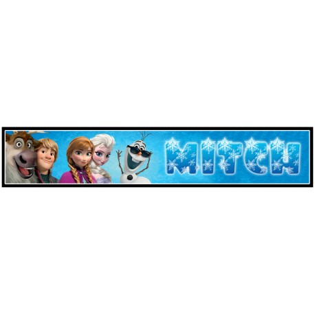 Personalised Frozen Ruler