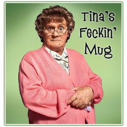 Personalied Mrs Brown's Boys Mug
