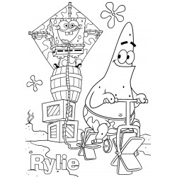 Personalised Kid's A3 Colouring Pictures (Set of 5)
