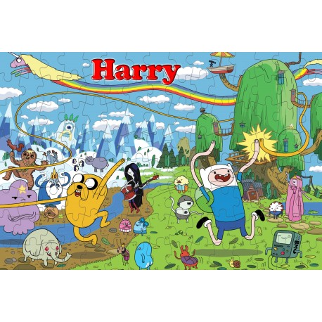 Personalised Adventure Time Puzzle