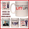 Personalised Suits Mug