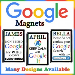 Personalised GOOGLE Fridge Magnet
