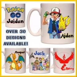 Personalised Pokémon & Pokemon Go Mug