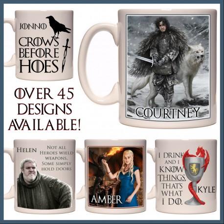 Personalised Game of Thrones Mug