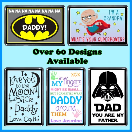 Personalised Father's Day Fridge Magnet