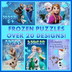Personalised Frozen Puzzle