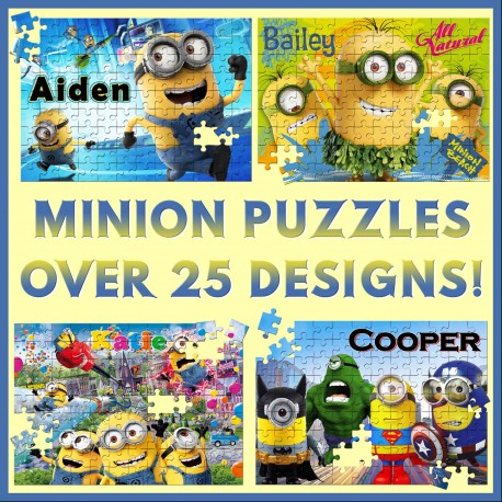 Personalised Minions Puzzle