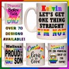 Personalised Gay Pride LGBTQ+ Mug