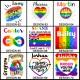 Personalised Gay Pride LGBTQ+ Mug