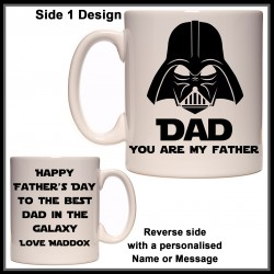 Personalised DAD You are my FATHER (Starwars) Mug