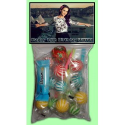 Personalised Katy Perry Lolly Bags