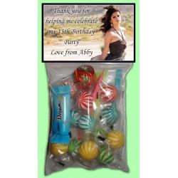 Personalised Selena Gomez Lolly Bags