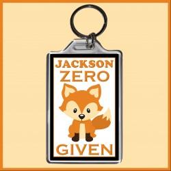 Personalised Zero FOX Given Large Key Ring