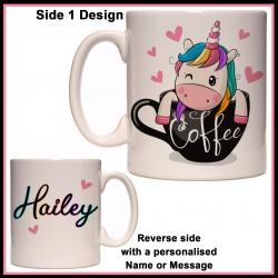 Personalised Chubby Unicorns Need Love Too Mug