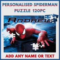 Personalised Spiderman Puzzle