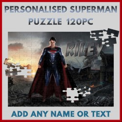 Personalised Superman Puzzle