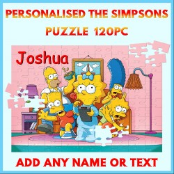 Personalised The Simpsons Puzzle