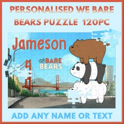 Personalised We Bare Bears Puzzle