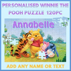 Personalised Winnie the Pooh Puzzle