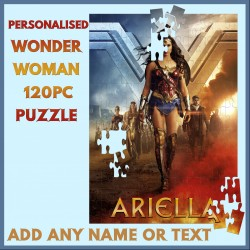 Personalised Wonder Woman Puzzle