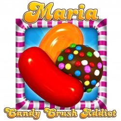 Personalised Candy Crush Mug