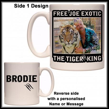 Personalised Tiger King - Free Joe Exotic Mug