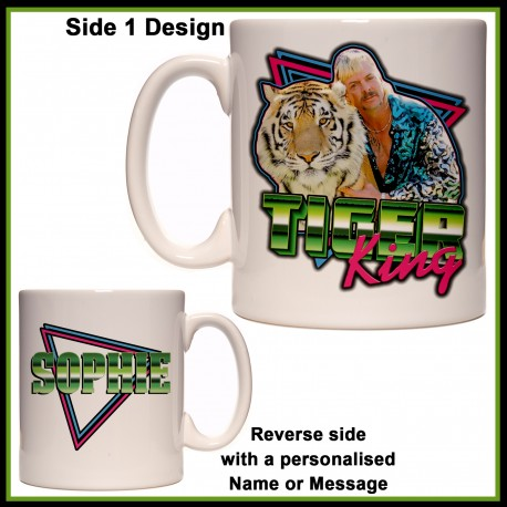 Personalised Tiger King Mug