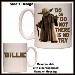 Personalised Yoda - Do or Do Not Mug